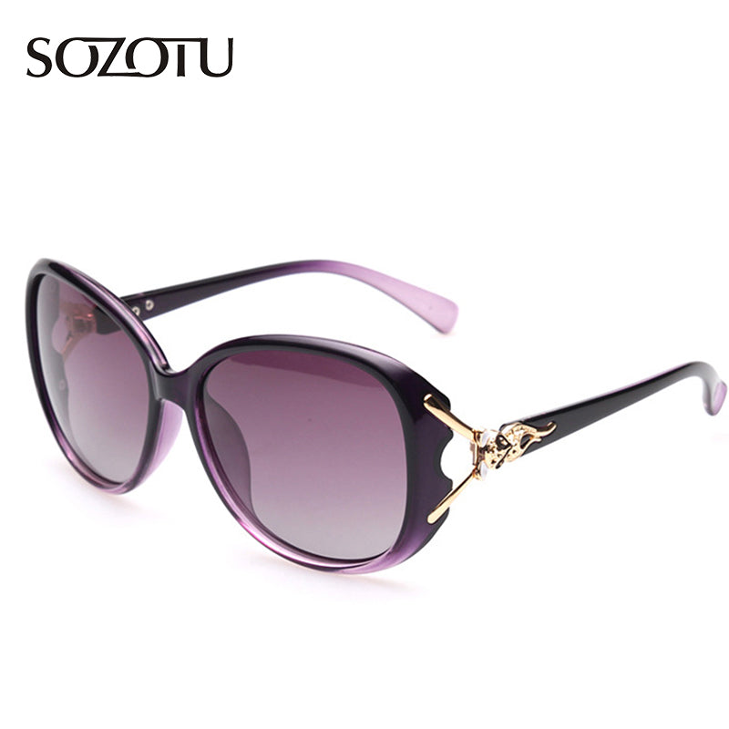 Fashion Polarized Sunglasses Women Butterfly Sun Glasses Ladies Luxury Brand Designer For Female Shades Retro UV400 YQ133