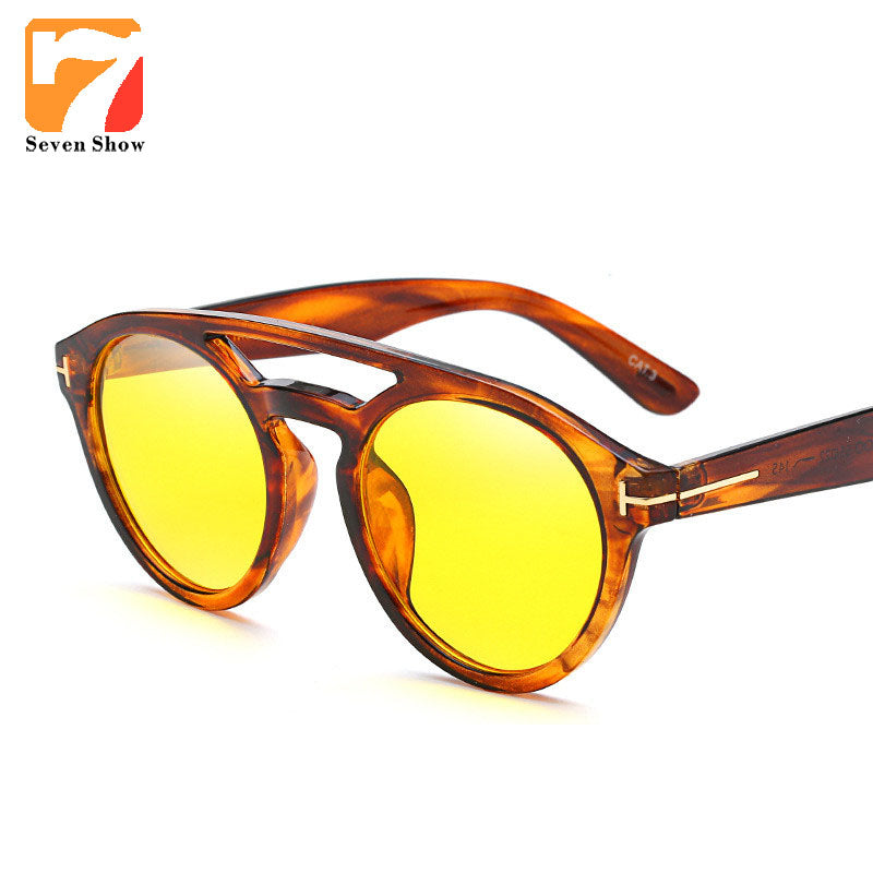 Fashion TF Men Sunglasses Women Men Brand Designer Vintage Sun Glasses For Male Female Mirror Clear Shades Gafas De Sol Hombre