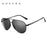 GUZTAG Brand Unisex Classic Men Aluminum Oversize Sunglasses HD Polarized UV400 Mirror Male Sun Glasses Women For Men G8005
