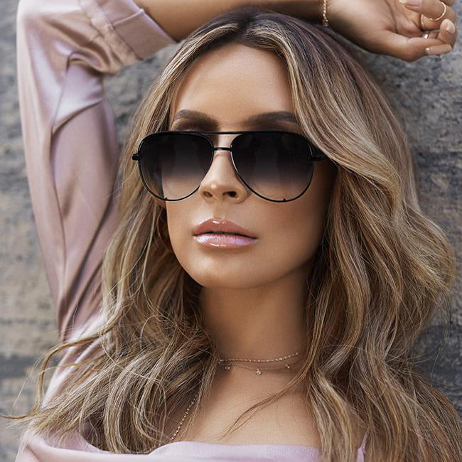 Gun Pink sunglasses silver mirror metal sun glasses brand designer pilot sunglasses women men shades top fashion eyewear lunette
