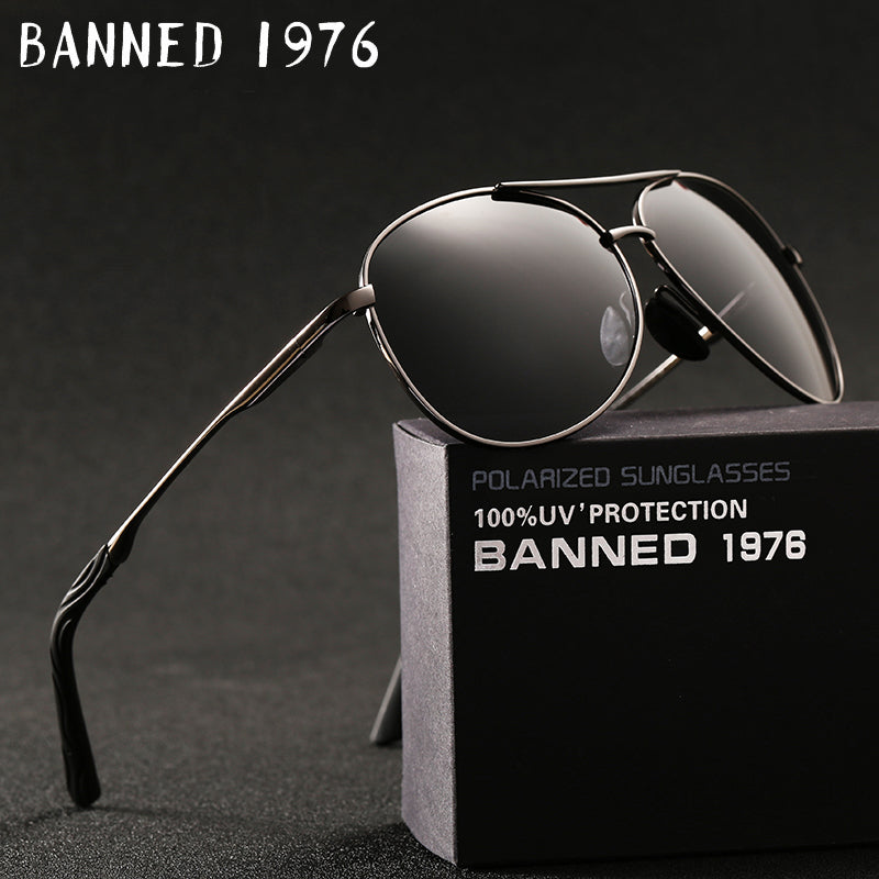 HD polarized fashion hot sell Sun Glasses Men's Sunglasses Car Drivers Goggles Anti-Glare Sun glasses Women Driving Glasses