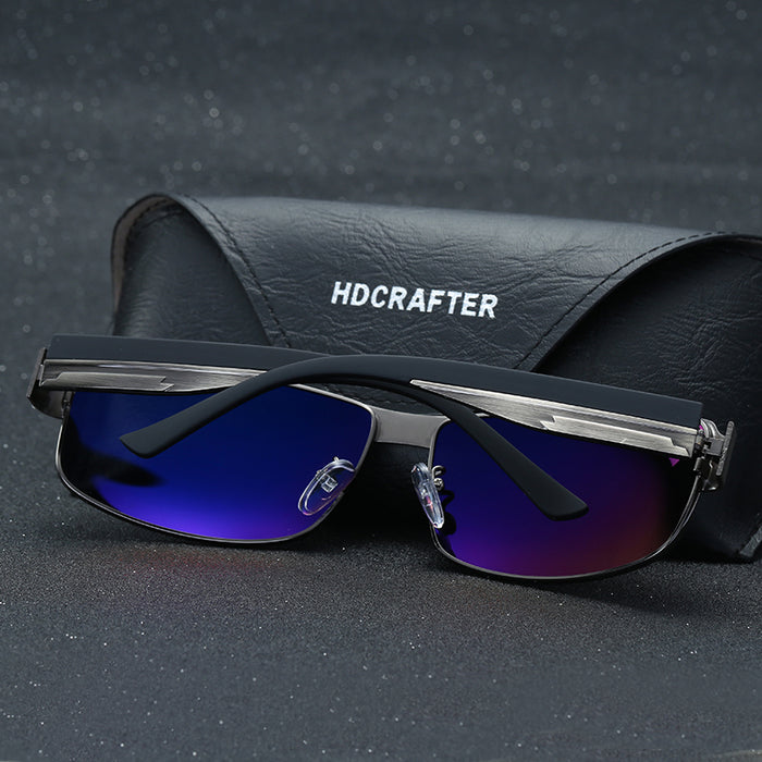 HDCRAFTER Fashion Driving Sun Glasses for Men Polarized UV400 Brand Designer Sunglasses Men Oculos Male gafas de sol Hot