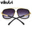 High Fashion Square Mens Sunglasses Brand Designer Unisex Gold Metal Frame Male Eyewear Quality Gradient Sun Glasses For Women