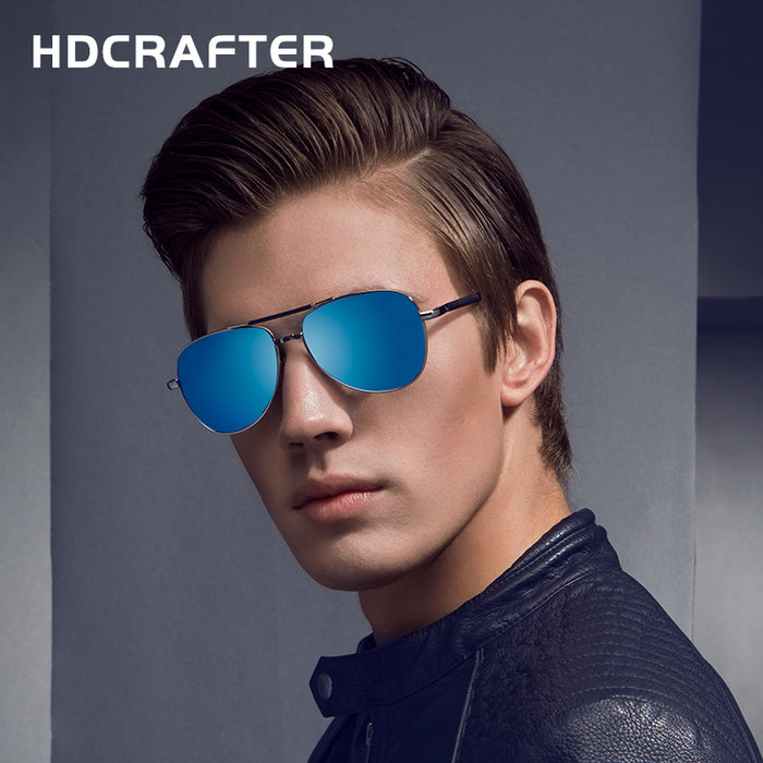 Hot Driving Eyewear Sun Glasses Fashion Men's UV400 Polarized Sunglasses for Men with Case Box