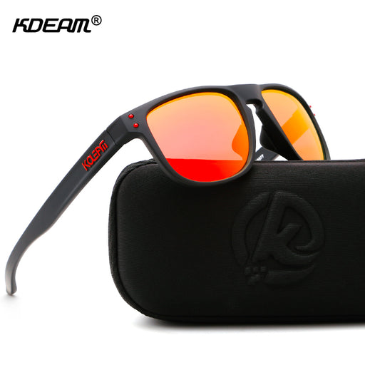 e9d2189245749d KDEAM High Definition TR90 Sunglasses Polarized Sport Sun Glasses Men  Polaroid Lens Athletes  Choice With