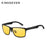 KINGSEVEN Aluminum Polarized Night vision Sunglasses Men Square Sun Glasses Driving Sunglasses Goggle Eyewear oculos de sol