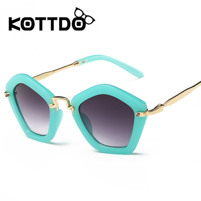 KOTTDO Fashion Brand Kids Sunglasses Child Boys Girls Sun Glasses UV400 Shade Eyeglasses Eyewear Sunglasses Lunette De Soleil