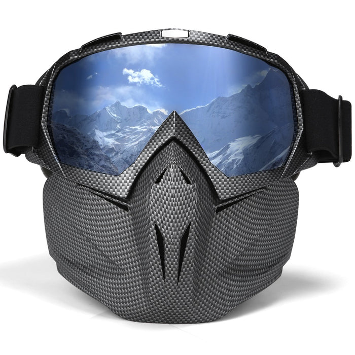 8c9367f7284 UV 400 Double lens Snowboard Goggles Anti-fog Ski Glasses Snow Goggles  Windproof Skiing Snowboarding