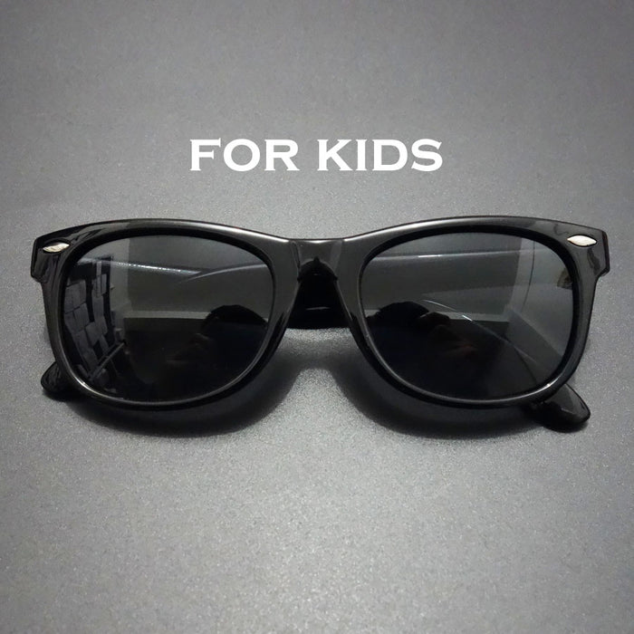 Kids Sunglasses Polarized Brand Vintage Outdo Polaroid Children Sun Glasses Black Shades Silicone Soft Sunglasses Kids