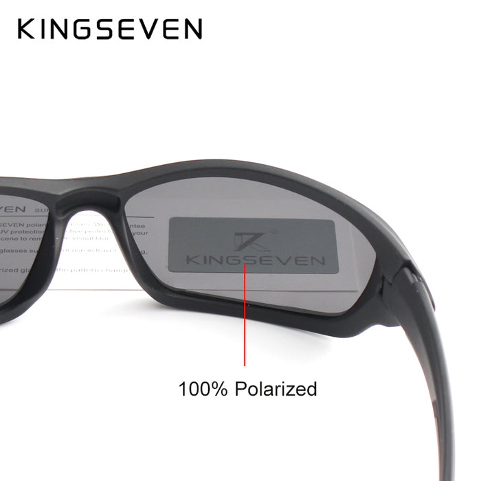 Kingseven Brand Classic Sunglasses Men Polarized Glasses Driving Original Accessories Sun Glasses for Men/Women Oculos De Sol