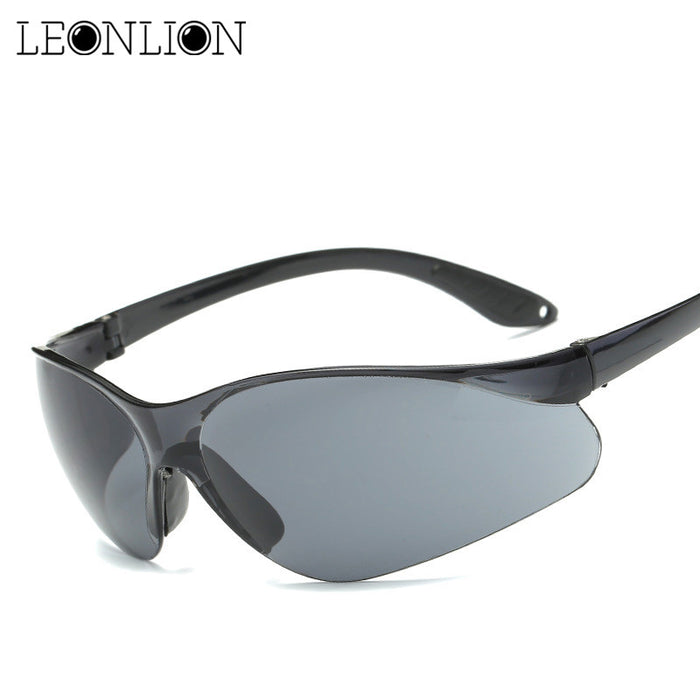 LeonLion Classic Vintage Transparent Sunglasses Man Driving HD Sun Glasses Women Brand Designer UV400 Outdoor Glasses