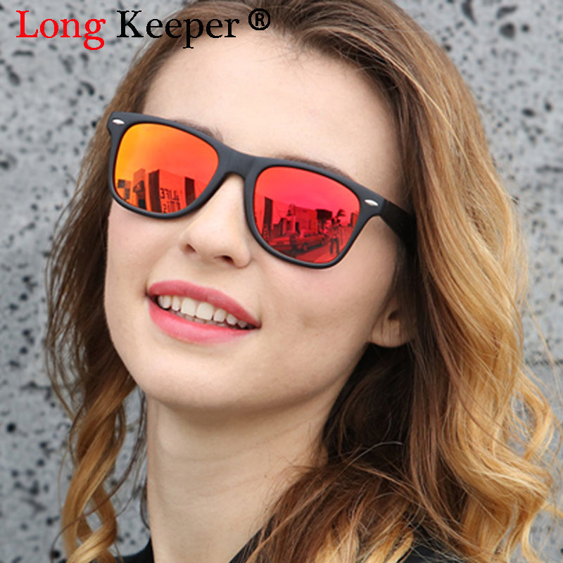 Long Keeper Polarized Men's Sunglasses Unisex Top Quality HD Lens Sun Glasses Male Driving Goggles UV400 Gafas De Sol Masculino