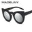 MADELINY New Cat Eye Sunglasses Women Brand Designer Fashion Vintage Round Sun Glasses Luxury Glasses UV400 Cat Eye MA200