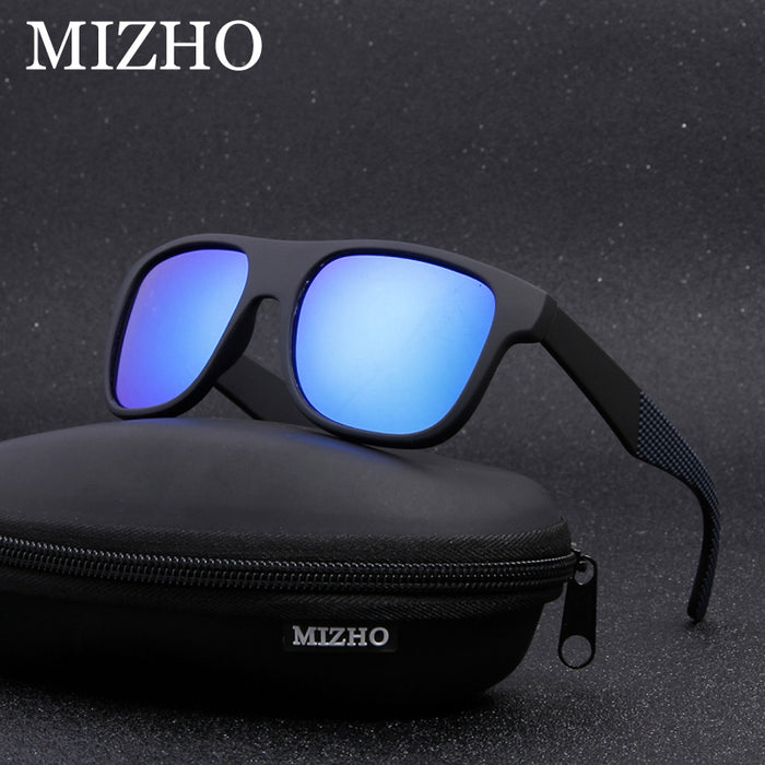 2175edac130a MIZHO Brand Anti-Reflective Hip Hop Polarized Sunglasses Men Fashion UV400  Eyewear 2018 Women Sun