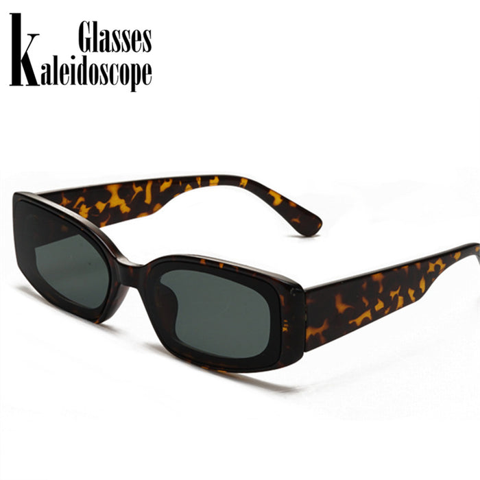 New Fashion Vintage Sunglasses Women Brand Designer Retro Sunglass Rectangle Sun Glasses Female UV400 Lens Eyewears