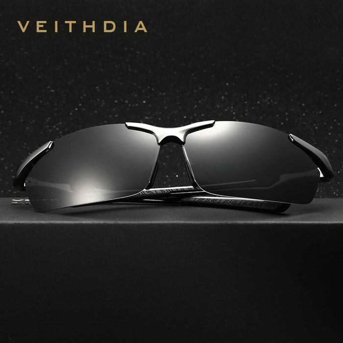 New VEITHDIA Polarized Sunglasses Men Brand Designer Male Vintage Sun Glasses Eyewear gafas oculos de sol masculino 6592