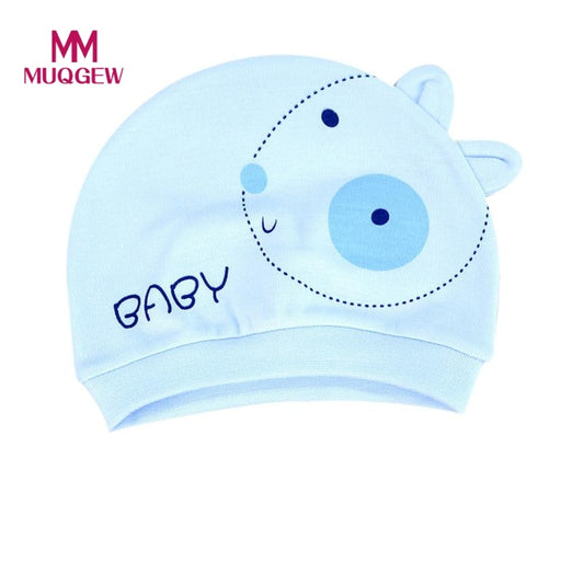 Newborn Photography Accessories Autumn Baby Hat Warm Cotton Toddler Cap Kids Girl Boy Hats Baby Bonnet Kids Hat