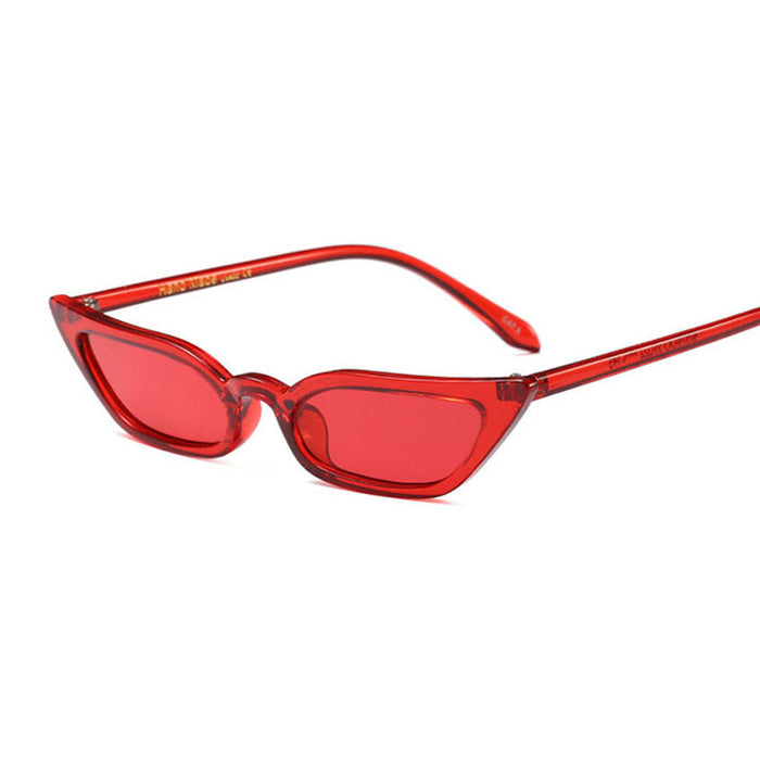 OFIR Vintage Sunglasses Women Sexy Cat Eye Luxury Brand Designer Sun Glasses Retro Small Red ladies Sunglass Black Eyewear