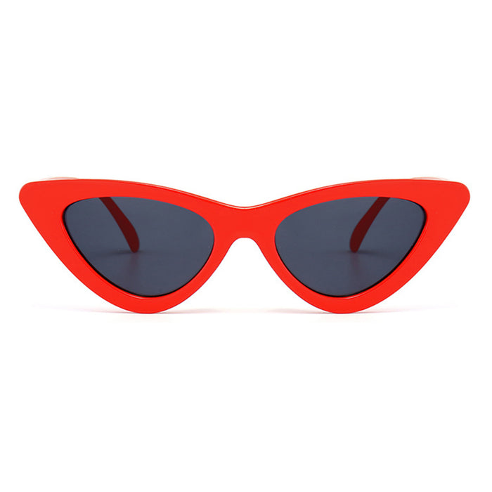 POLYREAL Women Cat Eye Sunglasses New Brand Designer Fashion Shades Female Sexy Cateye Sun Glasses For Ladies UV400