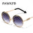 Pop Age New Luxury Italy Brand Designer Round Sunglasses Women Men Retro Arrow Sun Glasses Female Adumbral Oculos de Sol