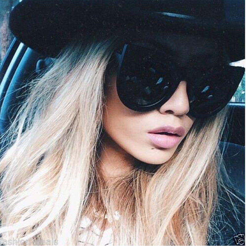 Popular Cat Eye Round Sunglasses For Women's Brand Designer Retro Vintage Leopard Sun glasses Female UV400 New Goggles Oculos