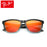 Pro Acme Polarized Sunglasses Men Famous Brand Mirror Lens Square Eyewear Women Sun Glasses Coating Driving Shades De Sol CC0806
