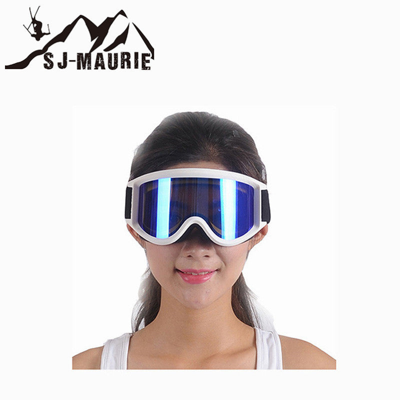 cde802bb74a Professional Ski Goggles Double Lens Anti-fog Anti-UV Adult Snowboard  Skiing Glasses Women