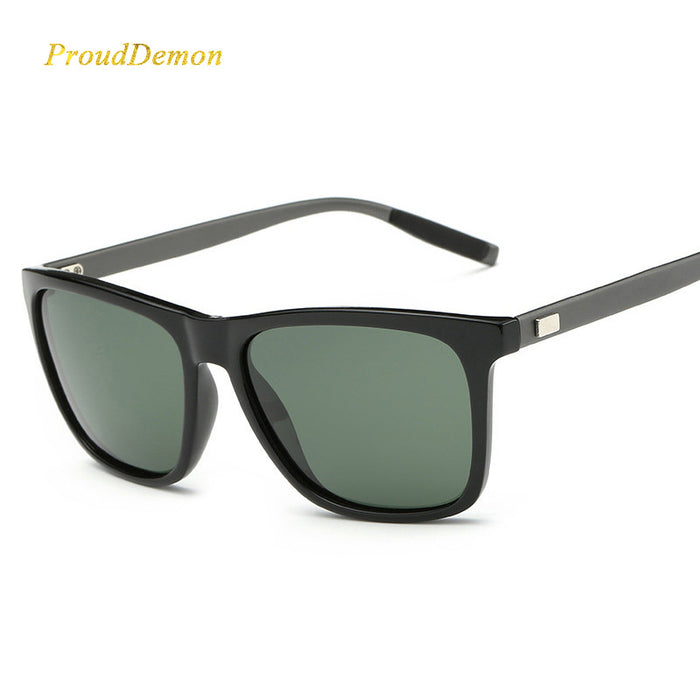 ProudDemon Polarized AluminumTR90 Sunglasses Men Brand Designer Driving Glasses Fashion Women Vintage Sun Glasses For Men UV400
