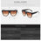 QETOU New Fashion Cat Eye Sunglasses Women Brand Designer Vintage Gradient Cat Eye Sun Glasses Shades For Women UV400