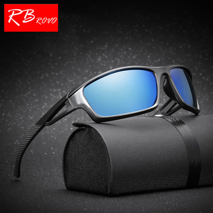 RBROVO Polarized Oculos De Sol Masculino Brand Designer Classic Vintage Outdoor Driving Men Sunglasses UV400 Sun Glasses