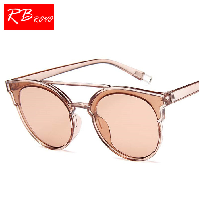 RBROVO Vintage Butterfly Sunglasses Women Luxury Plastic Ocean Lens Sun Glasses Classic Retro Outdoor Oculos De Sol Gafas