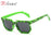 RILIXES kids Pixel Sunglasses Plaid Square Baby Glasses Children Minecraft Sun Glasses deal with it boys Brand Designer