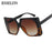 RSSELDN Square Sunglasses Women Retro Brand Designer Sun Glasses for Female New Fashion Oversized Sunglasses UV400 Oculos