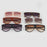 RSSELDN New Black Clear Oversized Square Sunglasses Women Gradient Summer Style Classic Women Sun glasses Big Square UV400