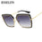 RSSELDN Square Sunglasses Women Fashion Brand Shades Mirror Oversized Sun Glasses For Female Coating Gafas UV400 Sunglass