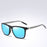 RUISIMO Retro Square Polarized Sunglasses Mirror Lens Vintage Sun Glasses For Men Women Polaroid sunglasses uv400 retro de sol