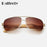Ralferty Unisex Square Bamboo Wood Sunglasses Men Women Oversized Mirror Coating Sun Glasses UV400 Sport Driving Goggles 5535