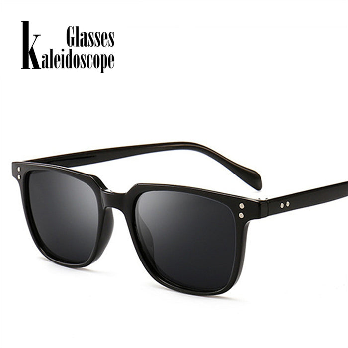 Rectangle Sunglasses Men Driving Male Luxury Brand designer Driver Sun Glasses Metal Designer Cool Shades Retro Glasses