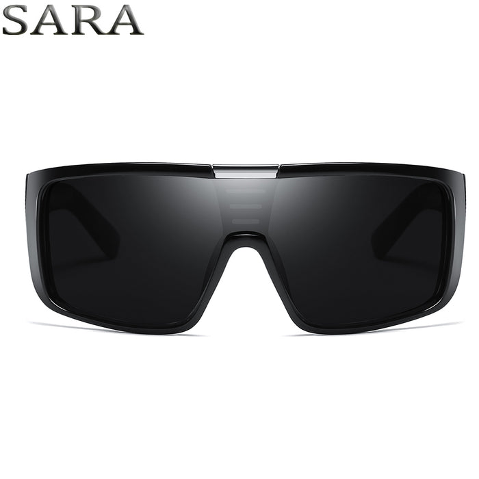 SARA NewYear Dragon Sunglasses Men Sport Goggle Sun Glasses Windproof Shield Frame Brand Mens sunglass vintage gafas oculos