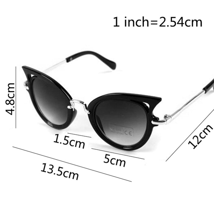 Apparel Accessories Men's Glasses Latest Collection Of Children Sunglasses Girls Cute Cat Eye Sun Glasses Kids Glasses Classic Brand Eyeglasses For Child Oculos