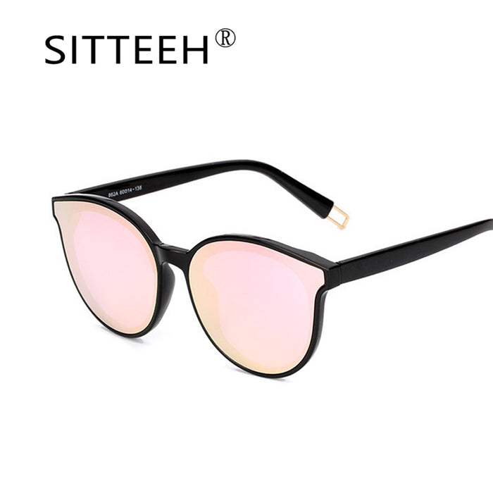 SITTEEH Sunglasses Cat eye glasses women men classic mirror oculos gafas de  sol lunette feminino soleil 9fd898630f