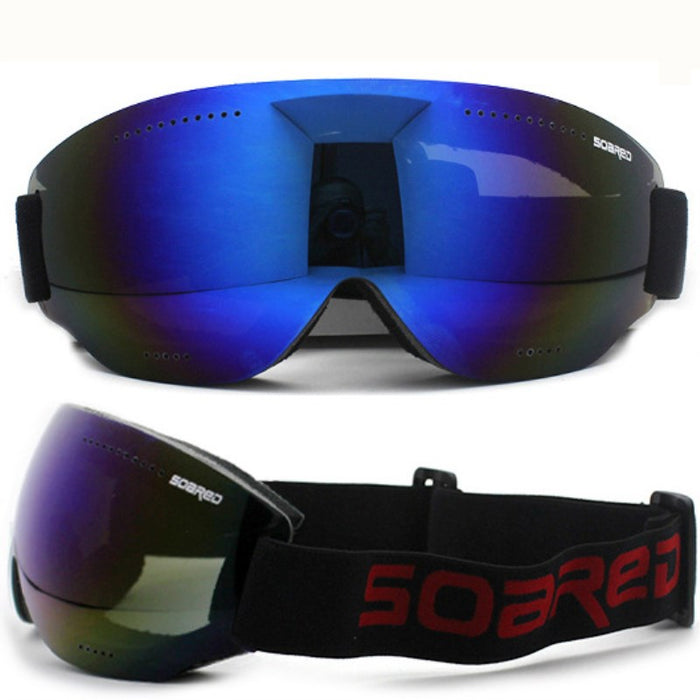 3862fd9824c2 Saenshing Frameless Ski Goggles Men Women Breathable Unti Fog Snowboard  Glasses Single Layer Lens Mountain Climbing