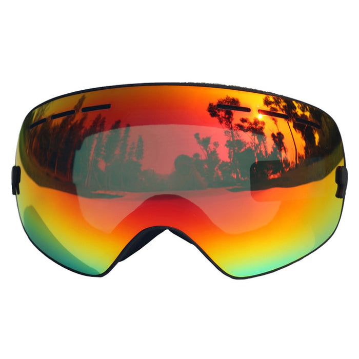 b159c392572 Ski Goggles UV400 Anti-fog Ski Glasses Double Lens Skiing Snowboard  Skateboard Snow Motocross Goggles