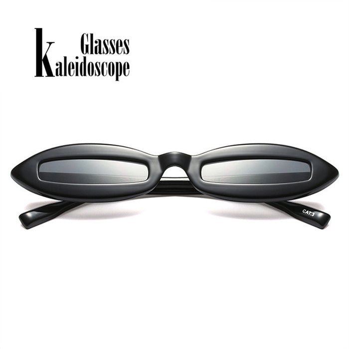 Small Oval Women Sunglasses Funny Eyeglasses Fashion Eyewears Small Frame Sun glasses UV Protection