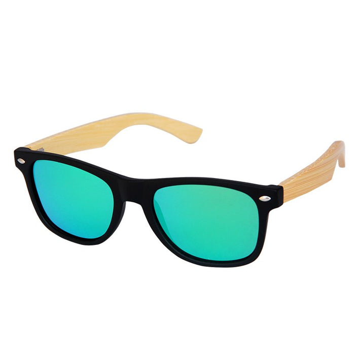 TNKL Retro Wood Sunglasses Men Bamboo Sunglass Women Brand Design Sport Goggles Polarized Sun Glasses Shades lunette oculo