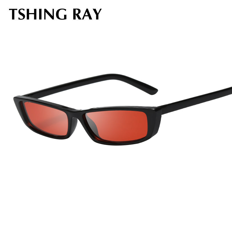 TSHING RAY Kendall Jenner Vintage Cat Eye Sunglasses Women Superstar Fashion Brand Designer Small Cateye Sun Glasses For Female