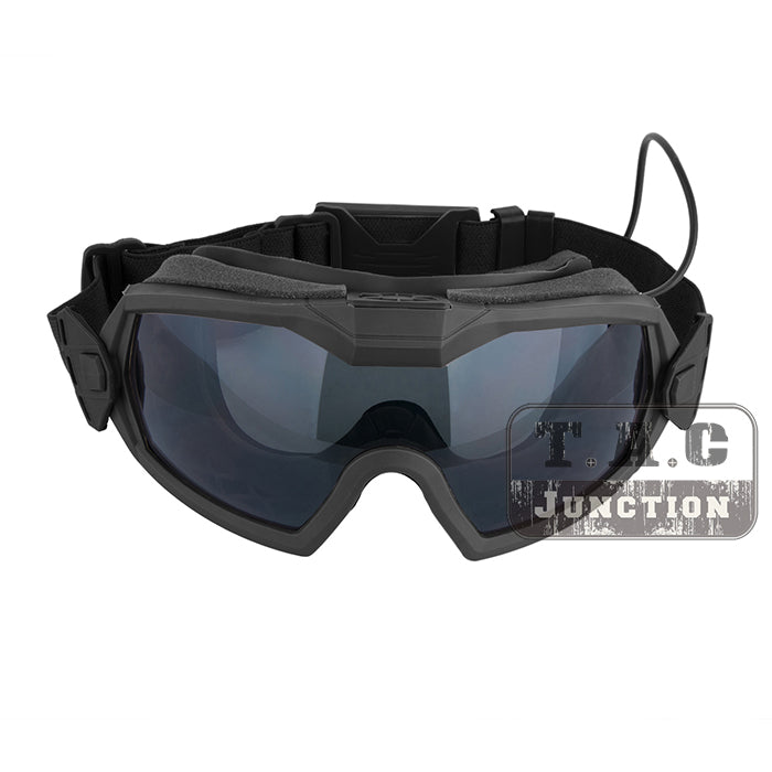 Tactical Anti fog Lenses Outside The Wire OTW Goggles Outdoor Hunting Paintball Eyewear Safety Glasses with Turbo Fan