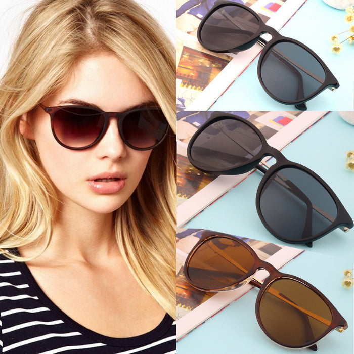 UCOOL New Sunglasses Women Fashion Sun Glasses Female Vintage Metal Frame Leg Spectacles Sunglasses Men Round gafas oculos