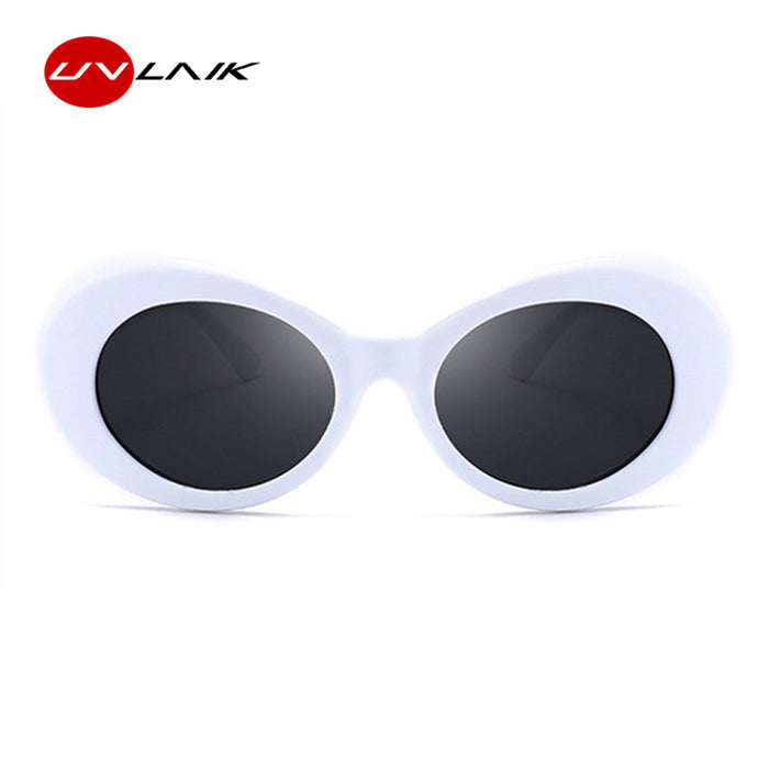 37d567f443f22 UVLAIK Men Women Clout Goggles Glasses UV400 Mirrored NIRVANA Kurt Cobain Sunglasses  Classic Fahion Female Male