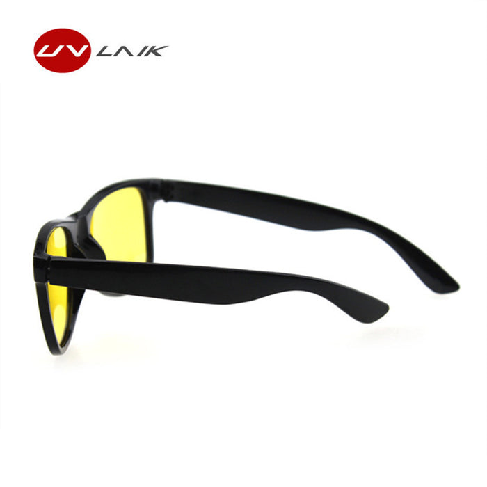 UVLAIK Night Vision Goggles Sunglasses Women Men Brand Designer Female Male Driving Sun Glasses Yellow Lenses Women's Glasses